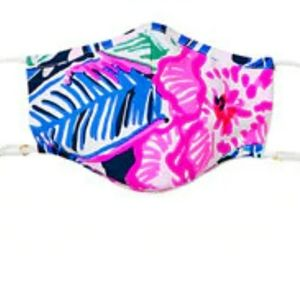 Nwt Lilly Pulitzer Facemask